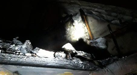 Lakóház tűz Nagymaroson